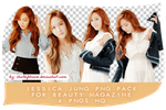 Jessica Jung - Beauty Magazine PNG Pack by StarlightSone