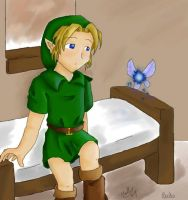 Collab - Young Link by MellySandshrew