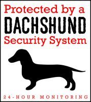 Dachshund Security System by Ade5