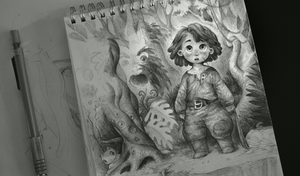 The Discovery sketch by Jerner
