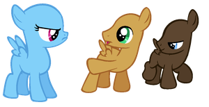 MLP Base- 'But you're a filly!' by alari1234-Bases