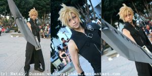 Kaname-Cloud Strife by WitchyElphaba