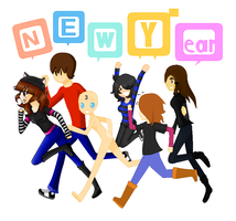 Collab: New Year 2 by Tenshika1998