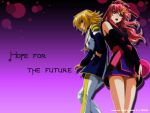 Lacus and Cagalli Wallpaper by Ezaria