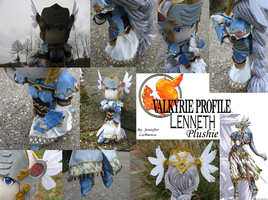 Valkyrie Profile:Lenneth Plush by SaintGem