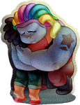 Bismuth and Steven by Analostan