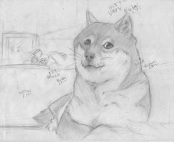 Doge by Immortally--Twined