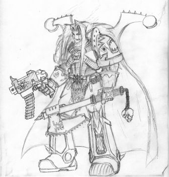 Khorne Berserker by Sheason