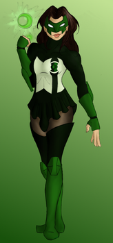 Genderswapped Kyle Rayner by StolenThunder