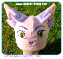 Custom fleece hat by The-Cute-Storm
