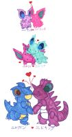 Love Evolves by Porcubird