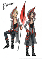 Post-Apocalyptic Designs: Enjolras by Starlene