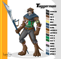 Taggermon by KingdomBlade