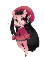Poruu Gaiaonline chibi commission by Spookie-Sweets