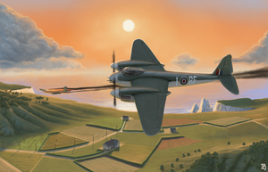 DH Mosquito by Aanker