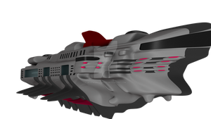 Pirate Spaceship: Freighter class by GearWorkStudios
