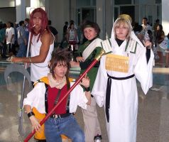 AX 08-10 - Sanzo Party by shadesmaclean