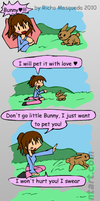 Emily and the Bunny by Mythical-Human
