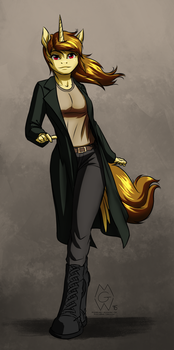Stream Request: Anthro Katya Ironstead by MykeGreywolf
