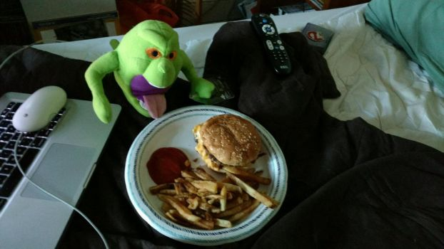 Ghostbusters Day Dinner by OtakuDude83