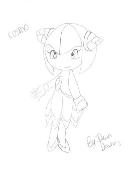 Cosmo The Seedrian by dawnthebest123