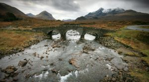 Bridge to the Cuillins by ArwensGrace