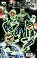 GREEN LANTERN Family Cover by RayDillon