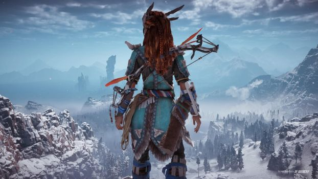 Horizon Zero Dawn - One Last Look Before I Go by nightrocker70