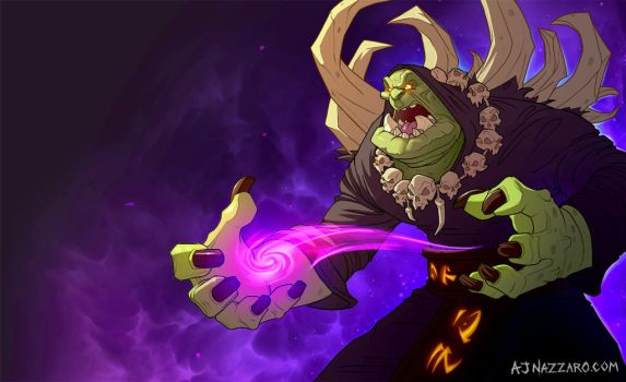 Gul'dan by AJNazzaro
