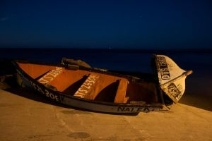 Boats by Night by HepiZA