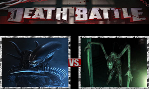 Xenomorphs vs. Necromorphs by ScarecrowsMainFan