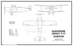 Gloster G.21 Goodwood (real 1922 project) by Bispro