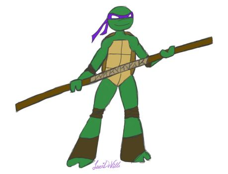 Donatello by LuciDeVille