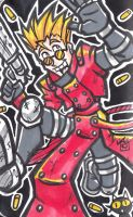 Marker Doodle - The Human Typhoon by hooksnfangs