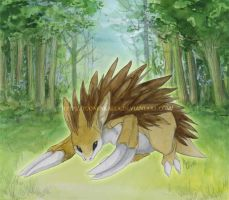 Sandslash by Tuonenkalla