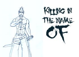 Killing in the name of LINE by Adder24