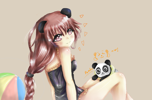 My Lovely Panda by JESOJOLAY