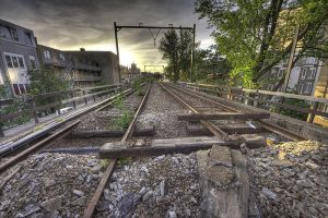 Old railroad II by DimitriKING