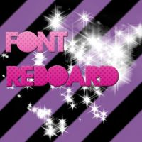 font reboard by HollywoodWorld