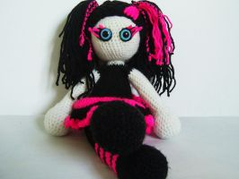 Gothic girl by KooKooCraft