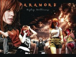 Hayley Williams - PARAMORE by paramore-more