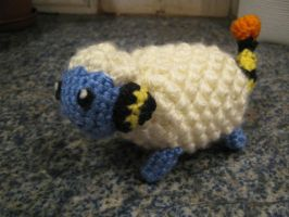 Crochet Mareep *WITH PATTERN!* by hulafrog
