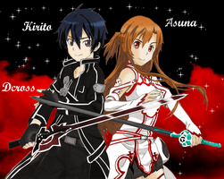 Kirito y Asuna by DCROSSS