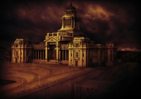 3D Bruxelles Courthouse by AnthonyCabula