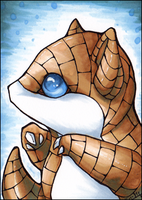 ACEO: Sandshrew by Fjodor