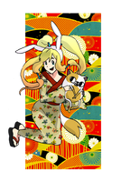 Fionna in the Edo period by pokercake