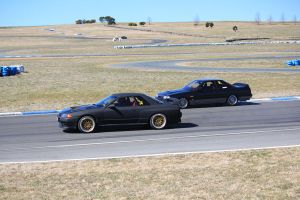 Nissan Skyline Old and New by Gasmaskguard