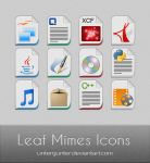 Leaf Mimes Icons by Untergunter