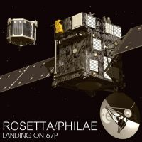 Rosetta Philae Landing on 67P by Emigepa