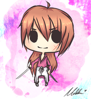 Chibi - Kenshin by Midnight-Cake